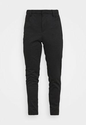 VMELLA - Trousers - solid black