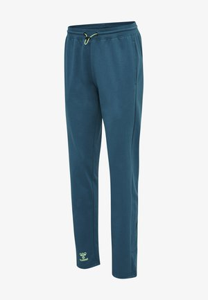 ACTION  - Trousers - blue coral/green ash
