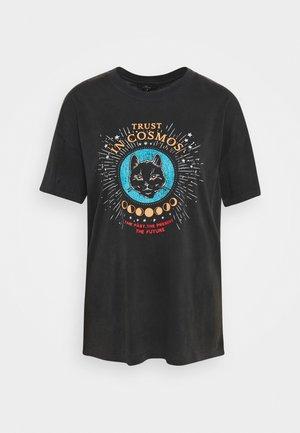 COSMOS - Print T-shirt - phantom