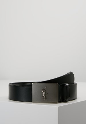 PLAQUE BELT - Cintura - black