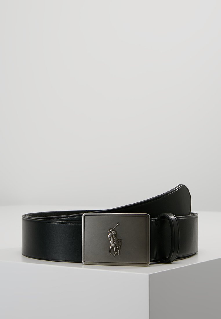 Polo Ralph Lauren - PLAQUE BELT - Cinturón - black