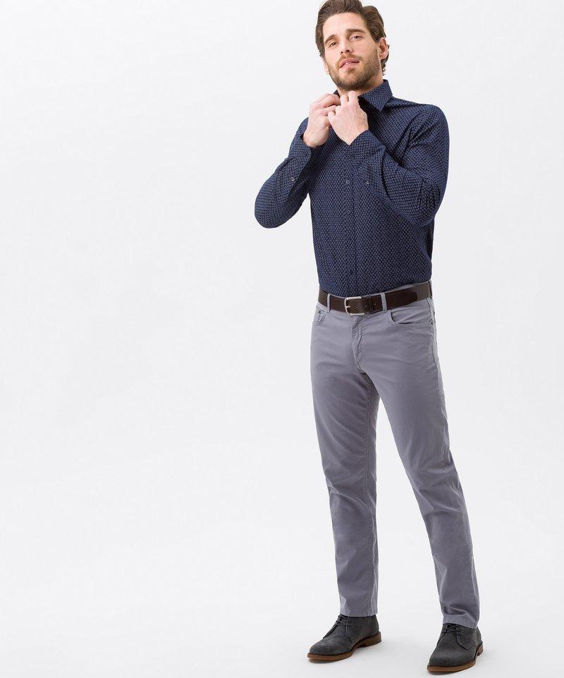 BRAX - STYLE COOPER  - Straight leg jeans - grey