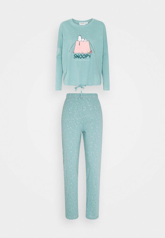 Pyžamo - medium turquoise