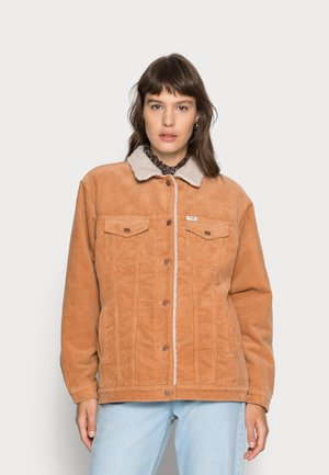 HERITAGE SHERPA  - Denim jacket - tan