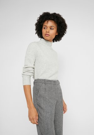 Isabel Mock Neck - Sweter - heather dusk