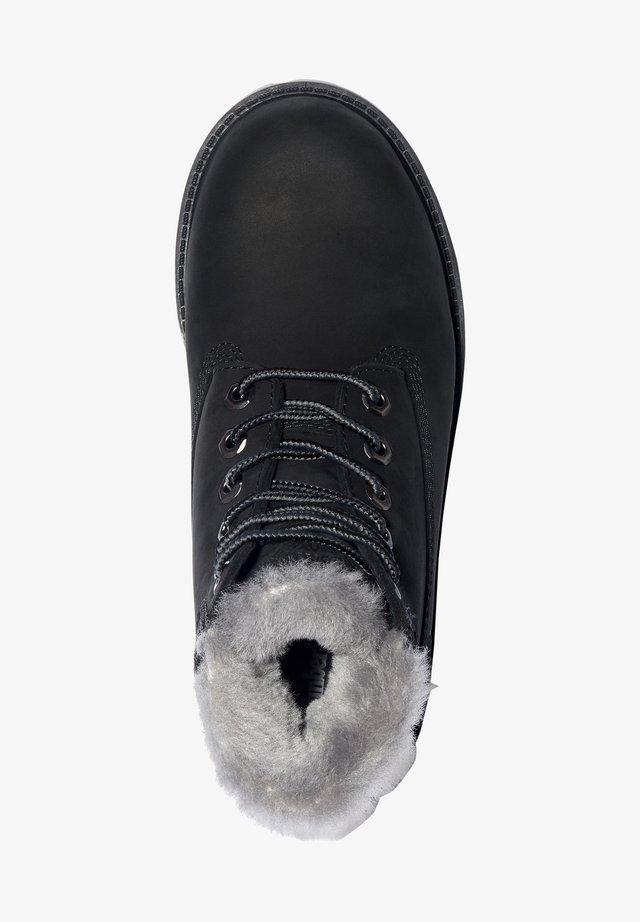 6 INCH PREMIUM WP SHEARLING - Vinterstøvler - black nubuck