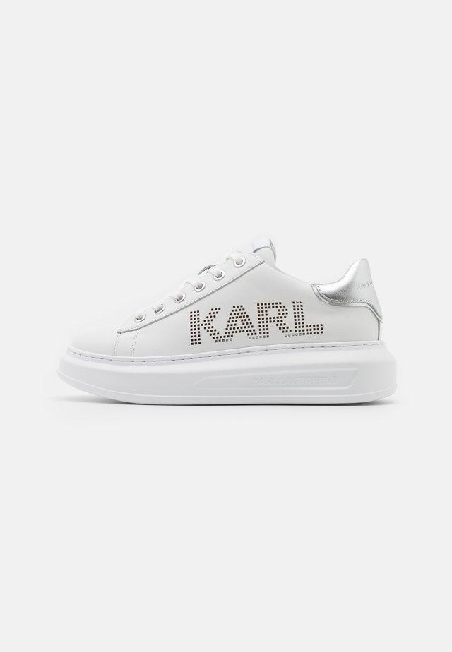KAPRI PUNKT LOGO  - Baskets basses - white/silver