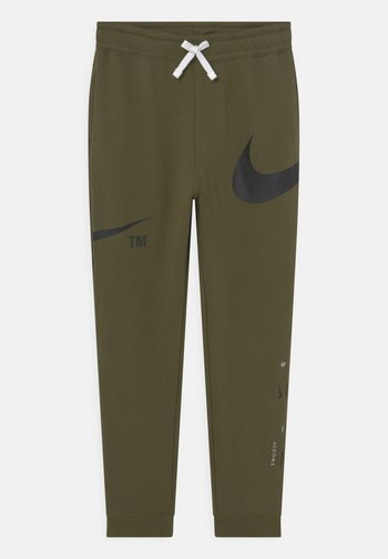 PANT - Pantaloni sportivi - rough green/black