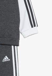 adidas Performance - JUVE - Dres - dark grey heather/cream white - 5