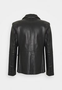 STUDIO ID - VINCENT LEATHER BLAZER - Giacca di pelle - black - 1