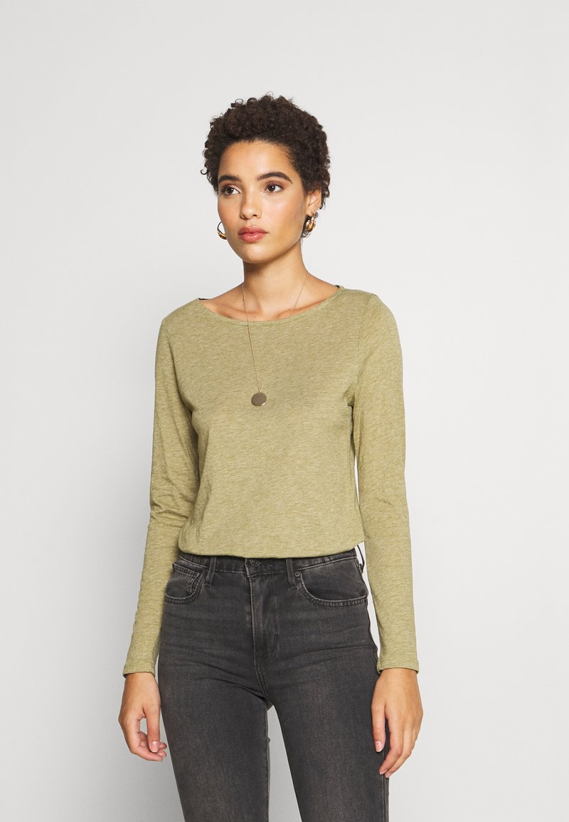 Esprit - Long sleeved top - olive