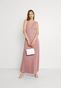 WAL G. - SAFA PLEATED MAXI DRESS - Occasion wear - blush pink - 1