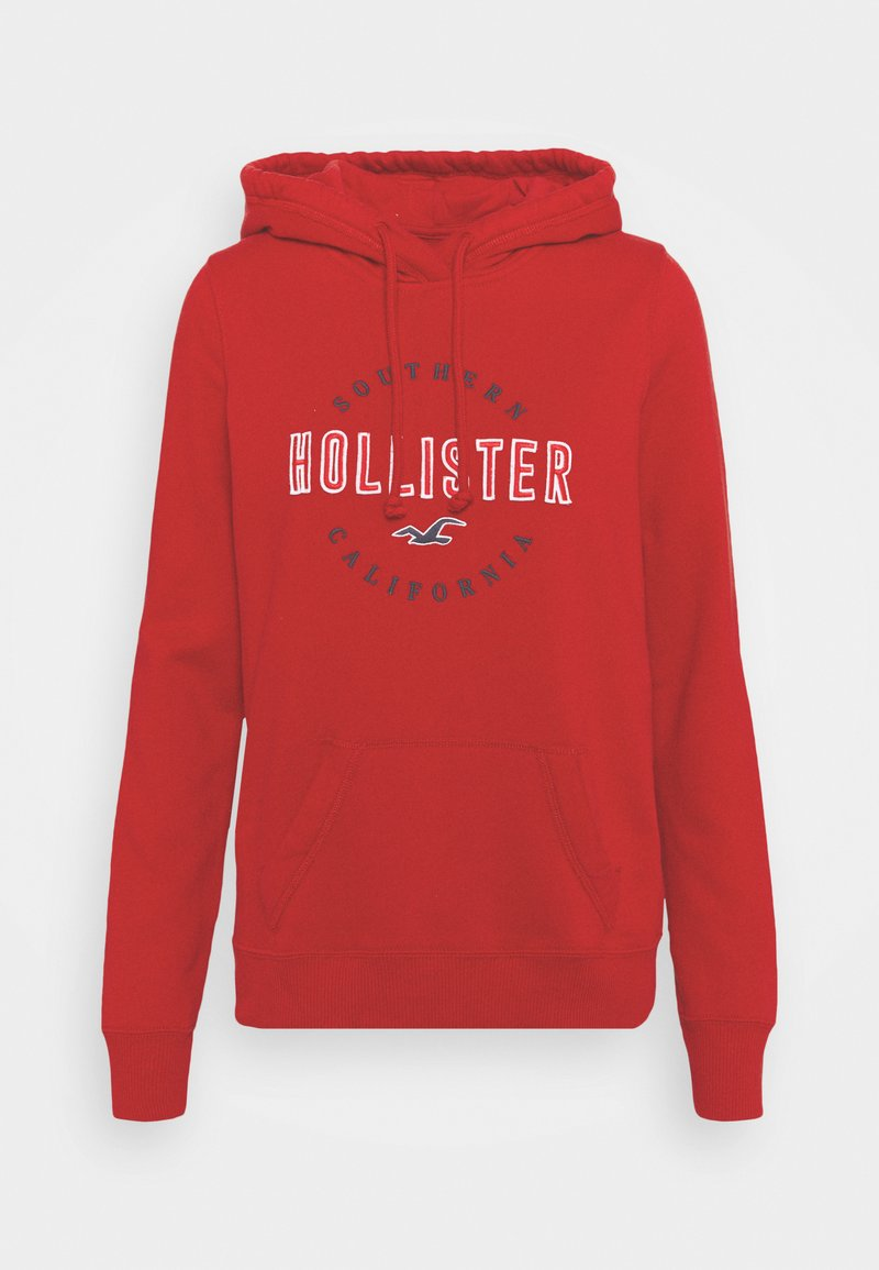 Hollister Co. - Hoodie - red