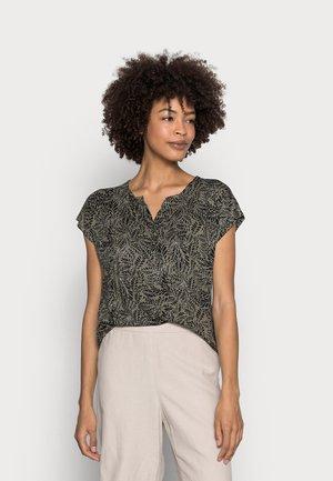 EDMONDA  BLOUSE  - Print T-shirt - khaki