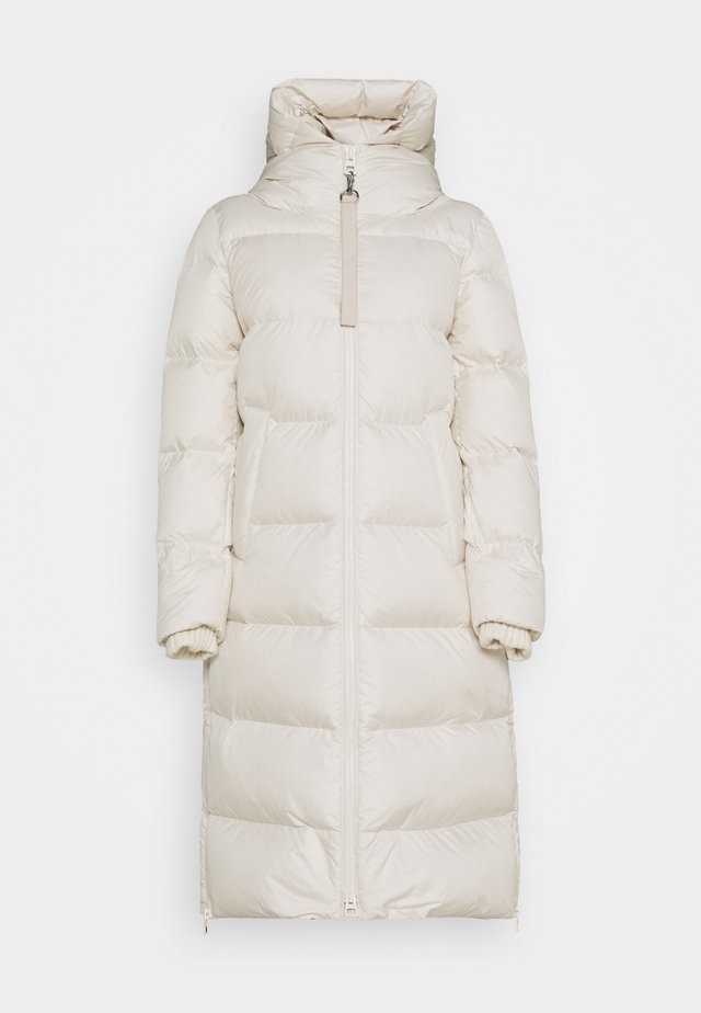 Down coat - birch white