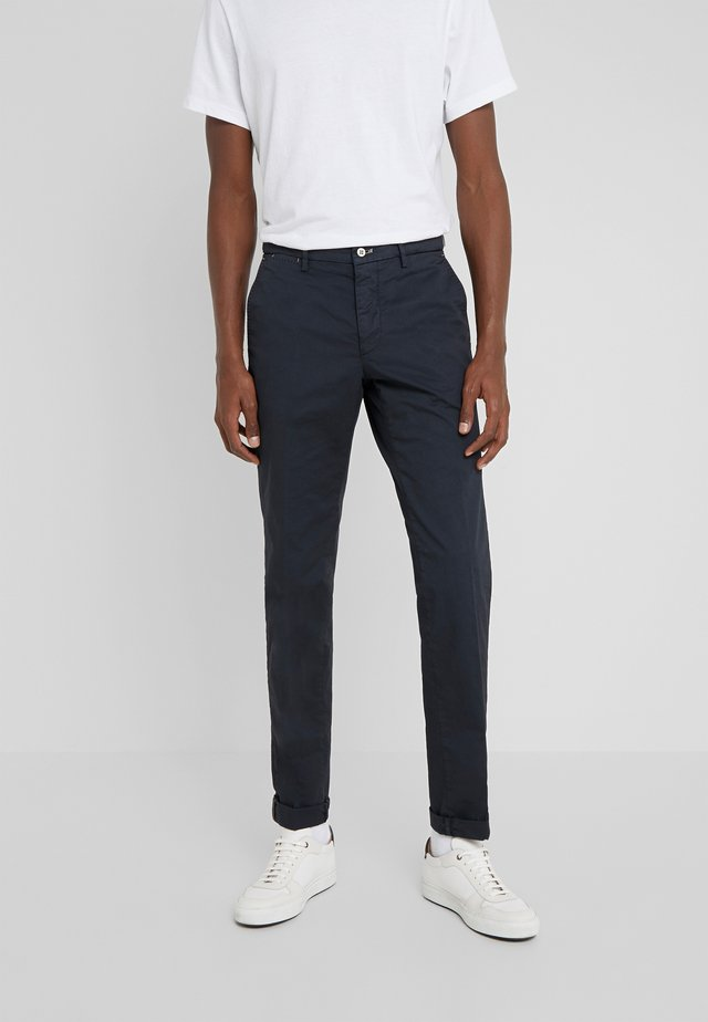 TORINO HAMPTON - Spodnie materiałowe - navy