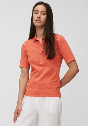 Polo shirt - burnt orange