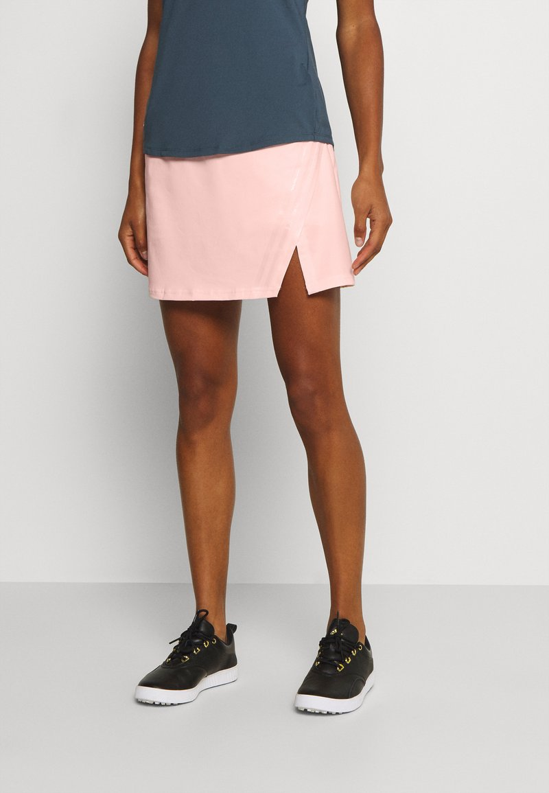 adidas Golf - PERFORMANCE SPORTS GOLF REGULAR SKIRT - Sportovní sukně - pink tint