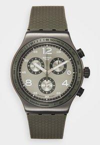 Swatch - TURF WRIST - Cronografo - khaki - 0