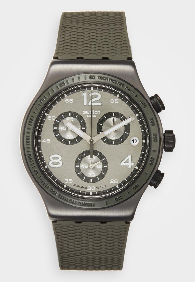 Swatch - TURF WRIST - Cronografo - khaki