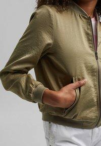 edc by Esprit - Bomber Jacket - light khaki - 3