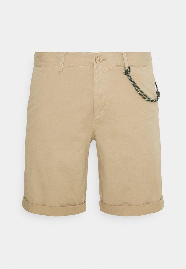 ELASTIC WAISTBAND - Shorts - nordic beige
