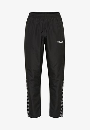 AUTHENTIC KIDS MICRO PANT - Trousers - black/white