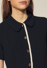 sandro - ALBERTA - Shirt dress - marine - 4