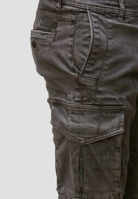 INDICODE JEANS - ALEX - Cargo trousers - dark grey - 3