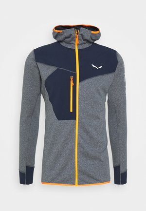 PUEZ DRY HOOD - Outdoor jacket - navy blazer melange