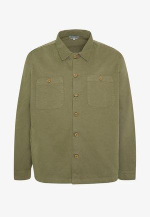 PLUS WORKER JACKET - Summer jacket - khaki