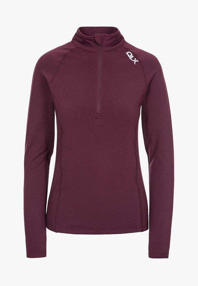 ODETTE - Long sleeved top - purple