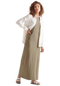 Superdry - Maxi dress - moss khaki - 1