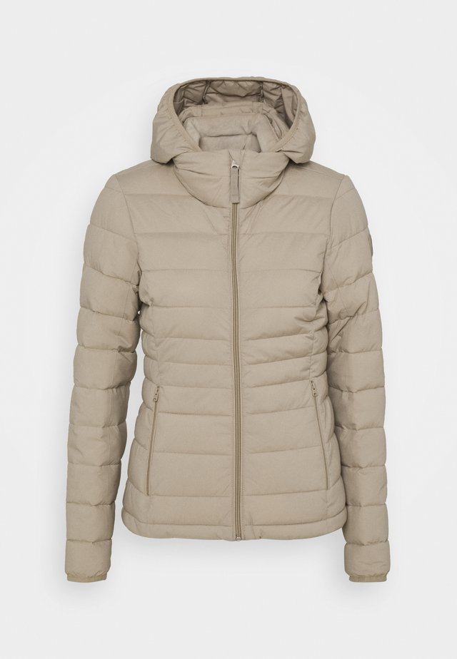 PACKABLE PUFFER POLY - Jas - grey