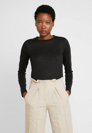 LANGE ÄRMEL - Long sleeved top - black