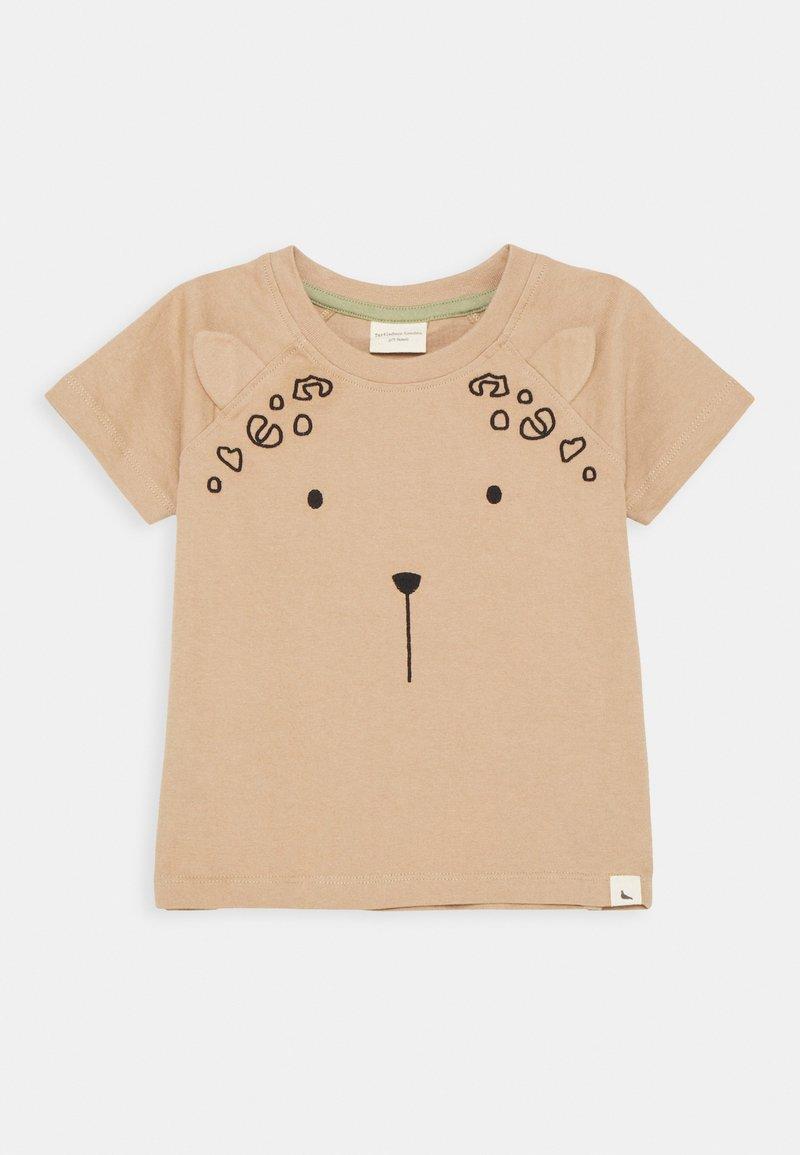 Turtledove - LEOPARD EAR UNISEX - T-shirt imprimé - bark