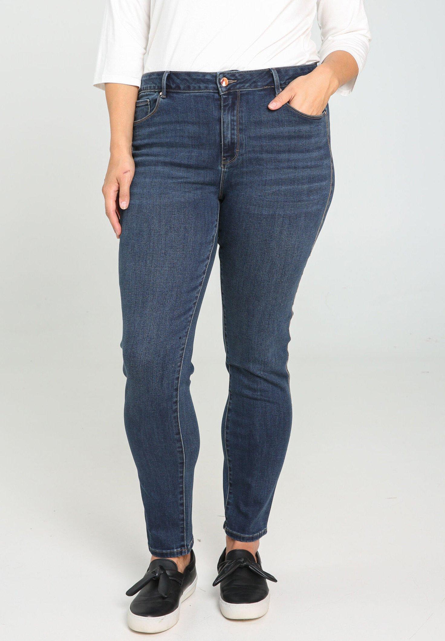 Damer SLIM LÄNGE - Jeans Slim Fit