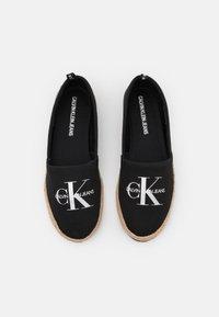 Calvin Klein Jeans - PRINTED  - Espadrilky - black - 5