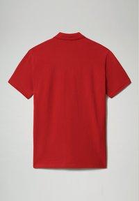 Napapijri - E-ICE - Polo shirt - old red - 4