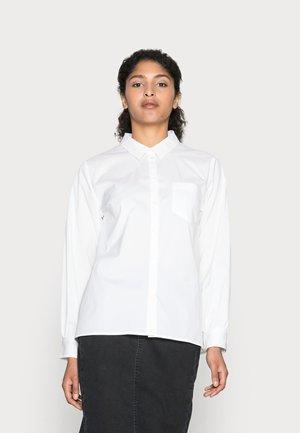 ACIR - Button-down blouse - snow white