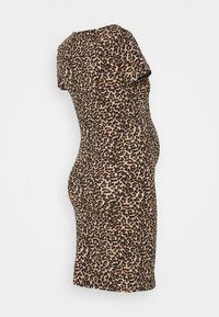 ONLY - OLMLOVELY  LIFE LEO O NECK  - Jersey dress - black - 1