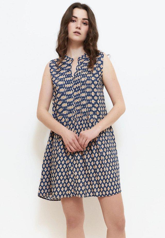 Korte jurk - navy blue