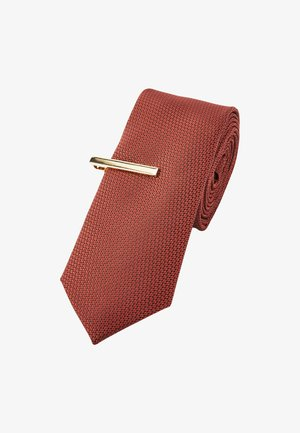 AND CLIP - Tie - orange