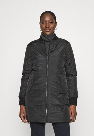 REVERSIBLE QUILTED - Winterjas - black