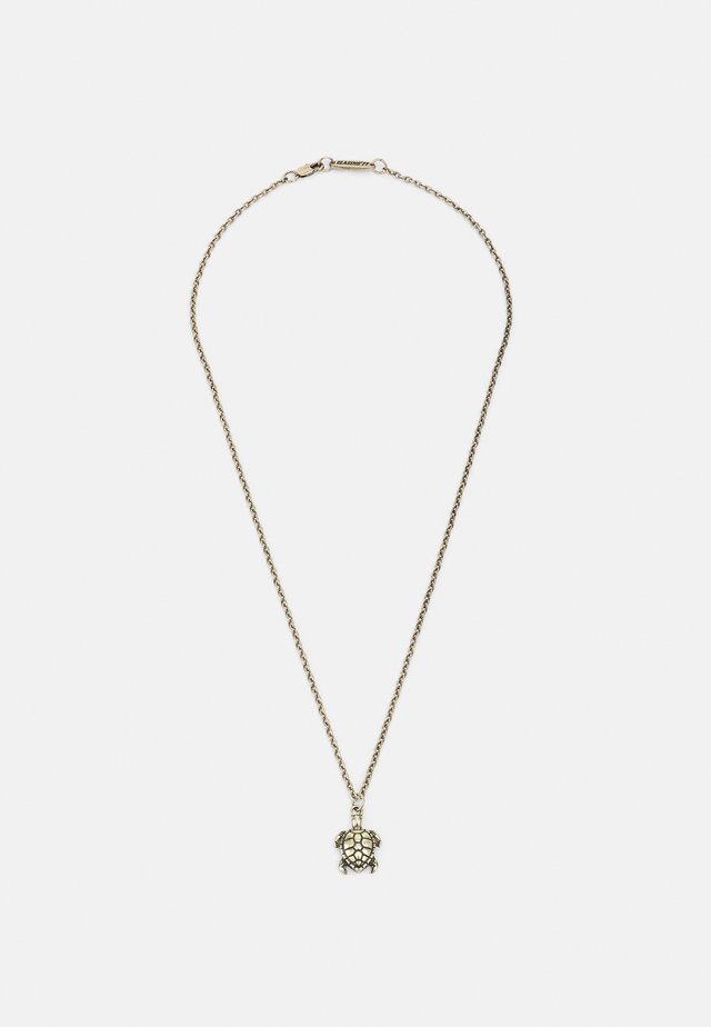NOWHERE BOUND TURTLE NECKLACE - Ketting - gold-coloured