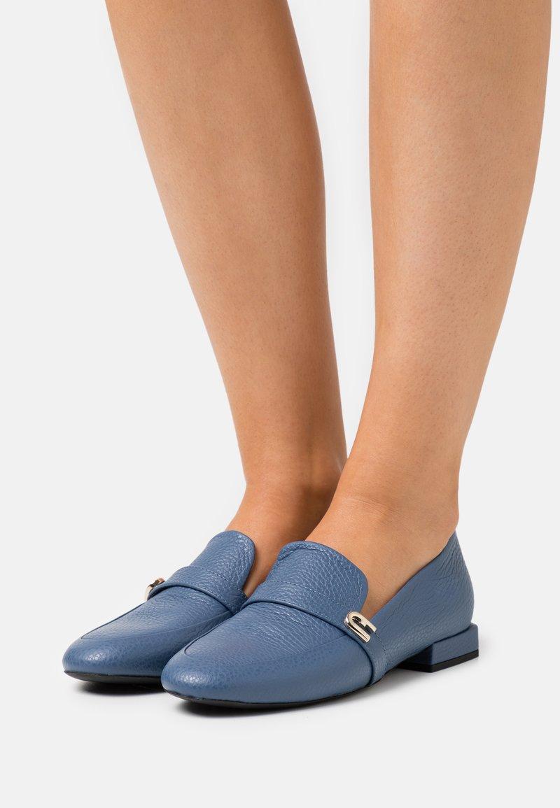 Furla - LOAFER  - Slip-ons - blu denim