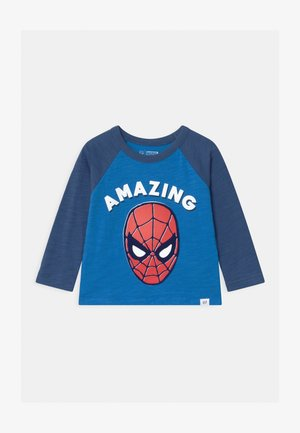 TODDLER BOY SPIDERMAN - Bluzka z długim rękawem - breezy blue