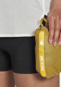 adidas Performance - TERREX AGRAVIC RAIN JACKET - Regnjakke / vandafvisende jakker - gold - 6