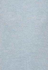 Zign - Roll neck- wool blend - Jumper - light blue - 2