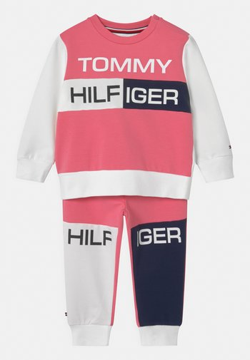 BABY COLORBLOCK  - Tracksuit - exotic pink
